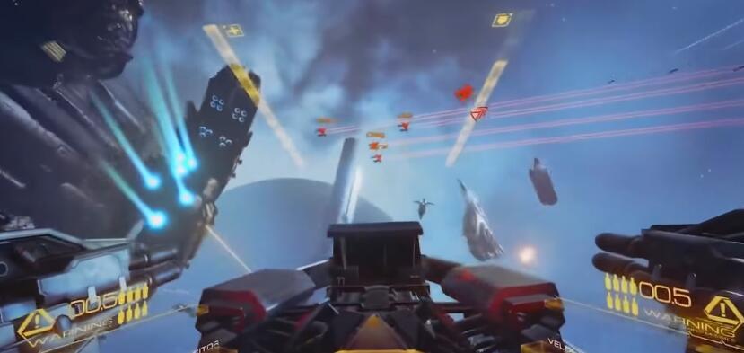 PLAYSTATION VR flight battle