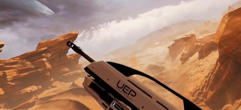 PLAYSTATION VR gun flight