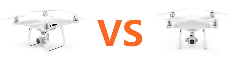 DJI 4pro vs 4advance