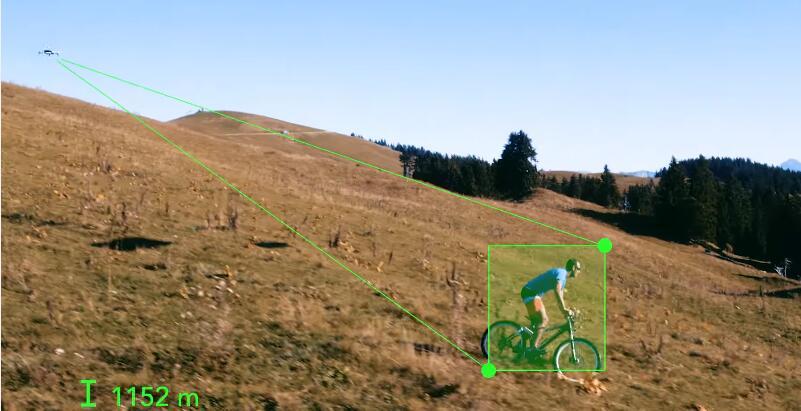 Follow-Me Flying bike