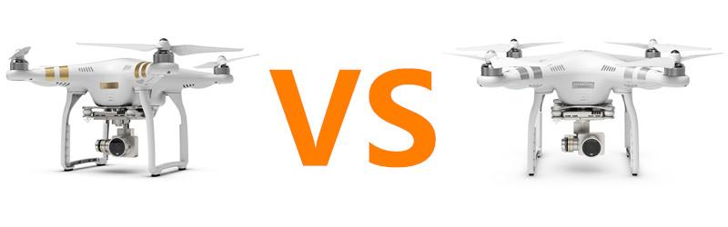 Phantom 3 pro vs Phantom 3 advanced
