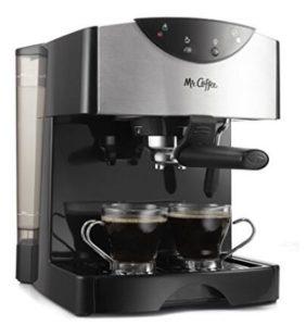 Mr. Coffee Automatic Dual Shot Espresso machine