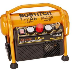 BOSTITCH CAP1512-OF 1.2 Gallon Oil-Free High-Output Trim Compressor