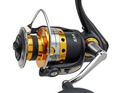 Three Spinning Reels for Large Fish