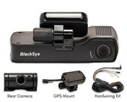 BlackSys CF-100 2-Channel – The Discreet High-end Dash Cam