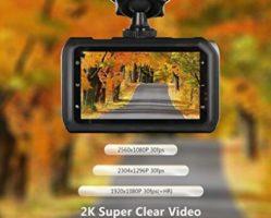 Z-Edge Z3 – Affordable 2K Ultra Full HD Dash Cam
